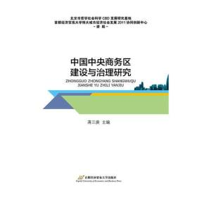 中国中央商务区建设与治理研究