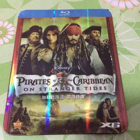 加勒比海盗:惊涛怪浪DVD