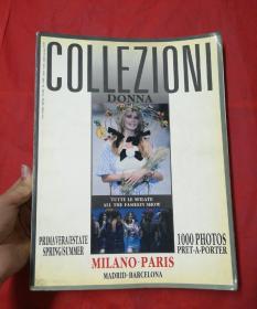 COLLEZIONI-DONNA-1998年总第25期--英文原版--国际服装是必备参考书籍