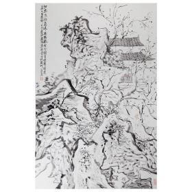 大来文化 金心明 真迹字画 当代水墨大师 知名画家作品 收藏国画宣纸包邮00158