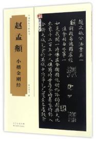 中国经典书画丛书:赵孟頫小楷金刚经