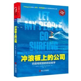 冲浪板上的公司:巴塔哥尼亚的创业哲学(10周年纪念版)