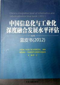中国信息化与工业化深度融合发展水平评估 蓝皮书2012