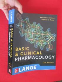 Basic and Clinical Pharmacology 13 E     (大16开)  【详见图 】