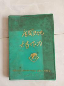 文革笔记本,1975年出版。