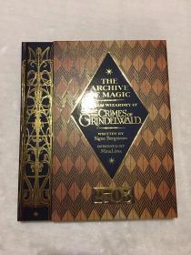 现货神奇的动物在哪里 2 格林沃德魔法档案 英版 The Archive of Magic: the Film Wizardry of Fantastic Beasts: The Crimes of Grindelwald