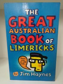 The Great Australian Book of Limericks by Jim Haynes (澳大利亚谐趣诗)英文原版书