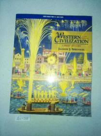 原装英文精装本  WESTERN CIVILIZATION  A BRIEF HISTORY THIRD  EDRRION  西方文明简史第三版 特价