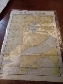 袖珍杭州西湖图。民国14年。初版初印