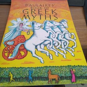 DAulaires Book of Greek Myths 英文原版