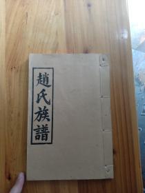 赵氏族谱 琴鹤堂重刊 湖南安化