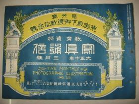 日本画报 1921年3月《写真通信》蒙古喇嘛寺院的祭典 蒙古热河地方 缅甸佛像