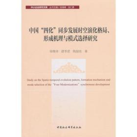 """中国""""四化""""同步发展时空演化格局、形成机理与模式选择研究"""