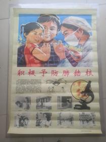 积极予防肺结核(宣传画)