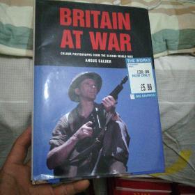 英文原版书 BRITAIN  AT  WAR(战斗中的英国) (16开精装)