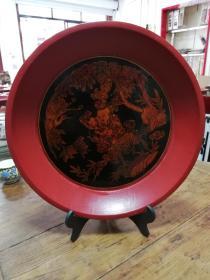 5漆器:民国宁绍地区十里红妆果盘