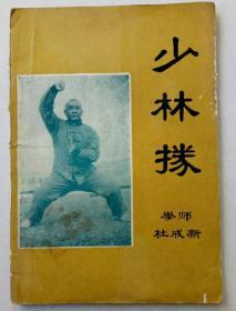 少林拳拳师杜成新
