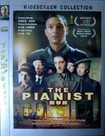 钢琴师(第55届戛纳电影节金棕榈大奖,波兰电影大师罗曼·波兰斯基经典名作,简装DVD一张,品相十品全新)