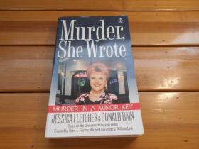 MURDER IN A MINOR KEY, MURDER, SHE WROTE(小调谋杀,谋杀,她写道)