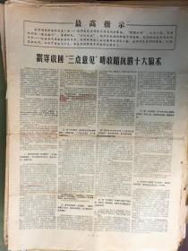 ·文革版·大字报·紧急呼吁 立即制止把矛头指向解放军的错误行径。 辽宁无产阶级革命派联络站·1967年7月3日·2开共2版