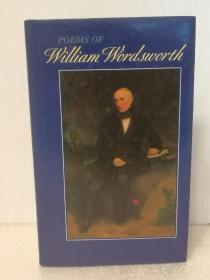 威廉·华兹华斯诗集 Poems of William Wordsworth (诗歌)英文原版书