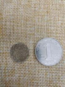 银币 硬币 1712 瑞典 国王 卡尔 12世