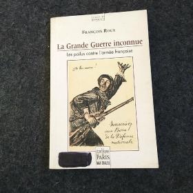 法文原版 La Grande Guerre inconnue