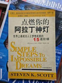 点燃你的阿拉丁神灯-----世界上最成功人士梦想成真的15道阶梯(品相以图片为准)