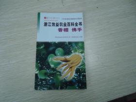 浙江效益农业百科全书 香榧 佛手