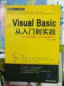VosuIBasic从入门到实践(16小时高清晰、交互式视频教学)品相以图片为准