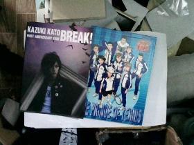 KAZUKI KATO BREAK!加藤和树写真集THE PRINCE OF TENNIS(2本合售)
