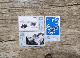 J60联合国教科文绘画展纪念邮票