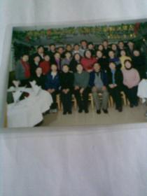 西城区教育党校第七期青干班结业留念(2000年,彩色合影照片)
