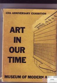 现代艺术博物馆出版《我们这个时代的艺术》大量艺术图录,1939年出版