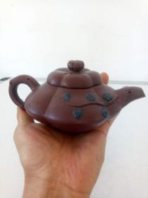 紫砂壶·梅花茶壶·实物拍照·详情见图·具体自鉴.