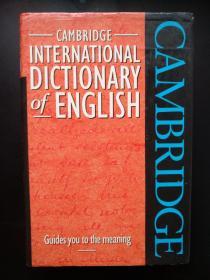 Cambridge International Dictionary of English 剑桥国际英语词典 英语原版