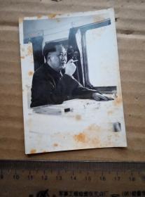 毛泽东 照片 一张   尺寸图为准