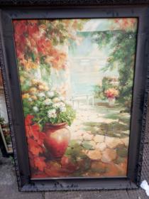 北京画家村画家张河油画