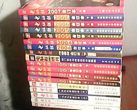 电脑报1998年上下 1999上下2000下 2001上下 2002上下 2003下+2003增刊 2004上下 2005上下 2006上下 2007上 合订本 共18本合售