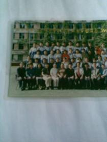 北京二一四中学初三毕业生合影留念(2001年,彩色合影照片,附一张照片底片)