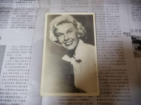 """罕见民国珍贵影像,好莱坞巨星多丽丝·戴:那个时代的雏菊与最健康的""""邻家女孩"""""""