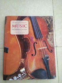 《MUSIC: An Appreciation(Ninth Edition)》(硬精装)【英文原版书】大16开