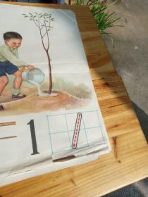 初级小学课本算术 第一册教学挂图 10张全