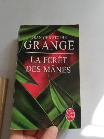 法文版 La Forêt des mânes 恶欲森林 法国惊悚天王Jean-Christophe Grangé