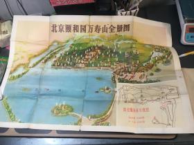 北京颐和园万寿山全景图