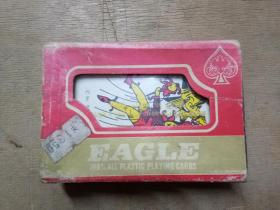 EAGLE——100%ALL PLASTIC PLAYING CARDS(老鹰牌---全塑料扑克牌)