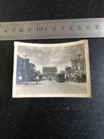 民国时期北平前门大街街景老照片