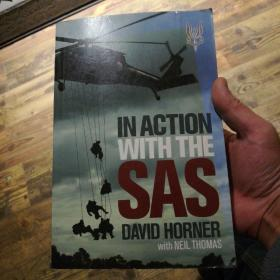 英文原版小说in action with the sas david horner