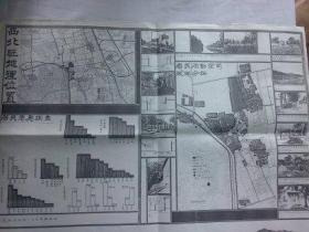 北京文献   清华大学著名教授朱祖成旧藏  西北旺地理位置、居民意愿调查、居民活动空间现状分析