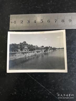 民国时期北平景山全景老照片